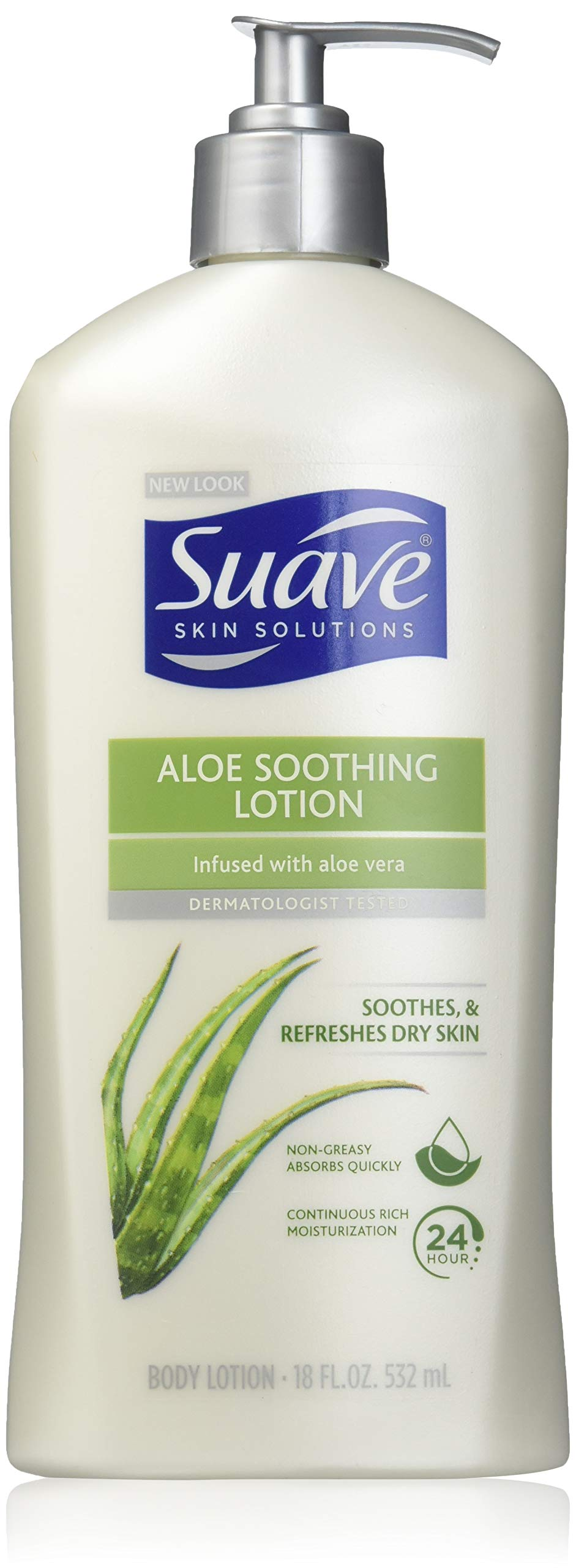 Suave Body Lotion - Soothing with Aloe - 18 oz - 2 pk by Suave