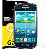 Verre Trempé Samsung Galaxy S3 MINI, NEWC® Film Protection en Verre trempé écran Protecteur vitre ANTI RAYURES SANS BULLES D'AIR Ultra Résistant Dureté 9H Protector pour Samsung Galaxy S3 MINI