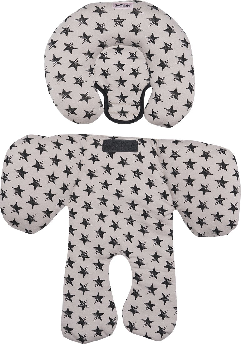 made in cotton antiallergic JANABEBE Reducer Support Cushion for Head /& Body Baby support