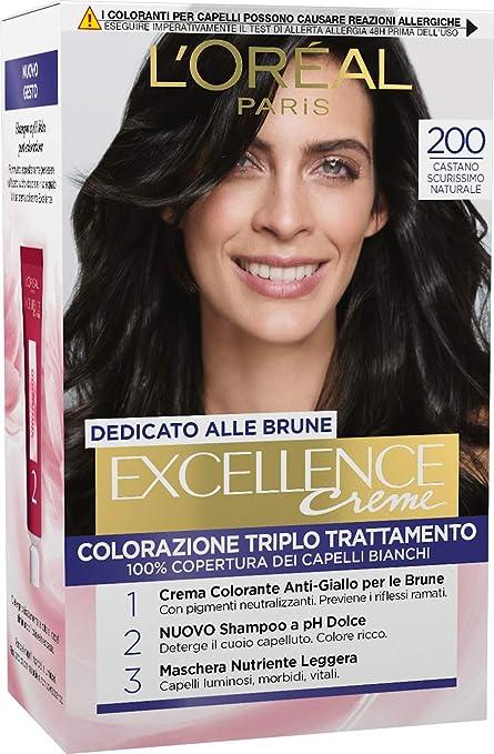 Palette LOreal Excellence N.200 Biondohe Colour Shine Cream ...