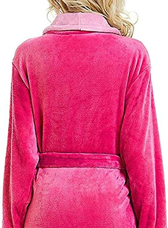 Peignoir Femme dhiver en Peluche Ch/âle Grand Taille Pyjamas Allong/é /Épaisse V/êtement De Nuit Surdimensionn/é Taille Poche Chemise De Nuit Confortable Robe Accueil Chambre Serviette De Bain