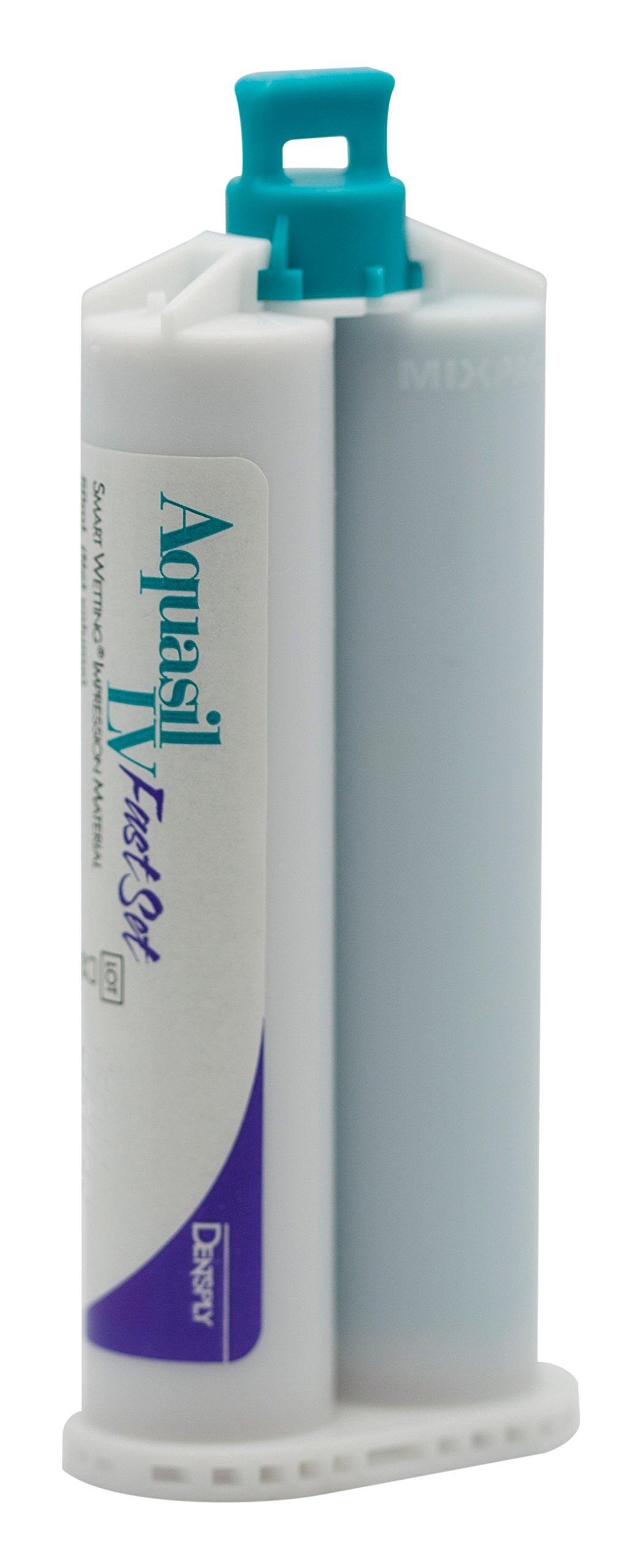 Dentsply 678415 Aquasil Smart Wetting Impression Material, Cartridge Refill, Fast Set, Teal, 50ml