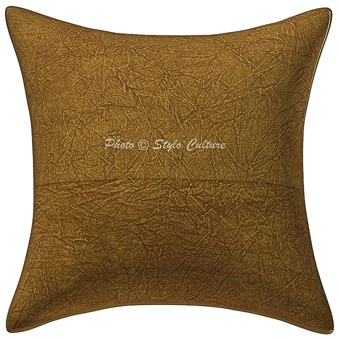 Amazon.com: Stylo cultura algodón café 16 x 16 hilo dorado ...