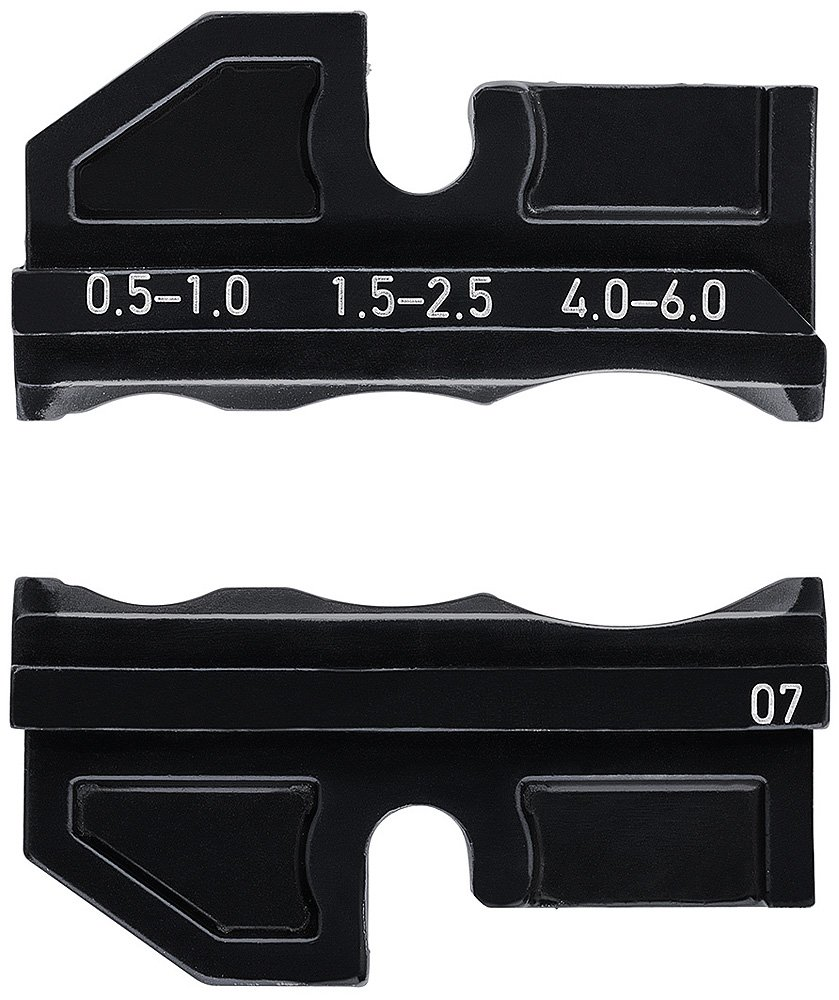 Knipex 97 49 07 Crimping Dies for heat shrinkeable sleeve connectors