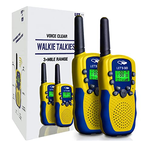 Amazon TOPTOY Gifts For Girls 7 Years Old Walkie Talkies
