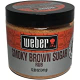 Weber's Smoky Brown Sugar Rub 12 Ounces
