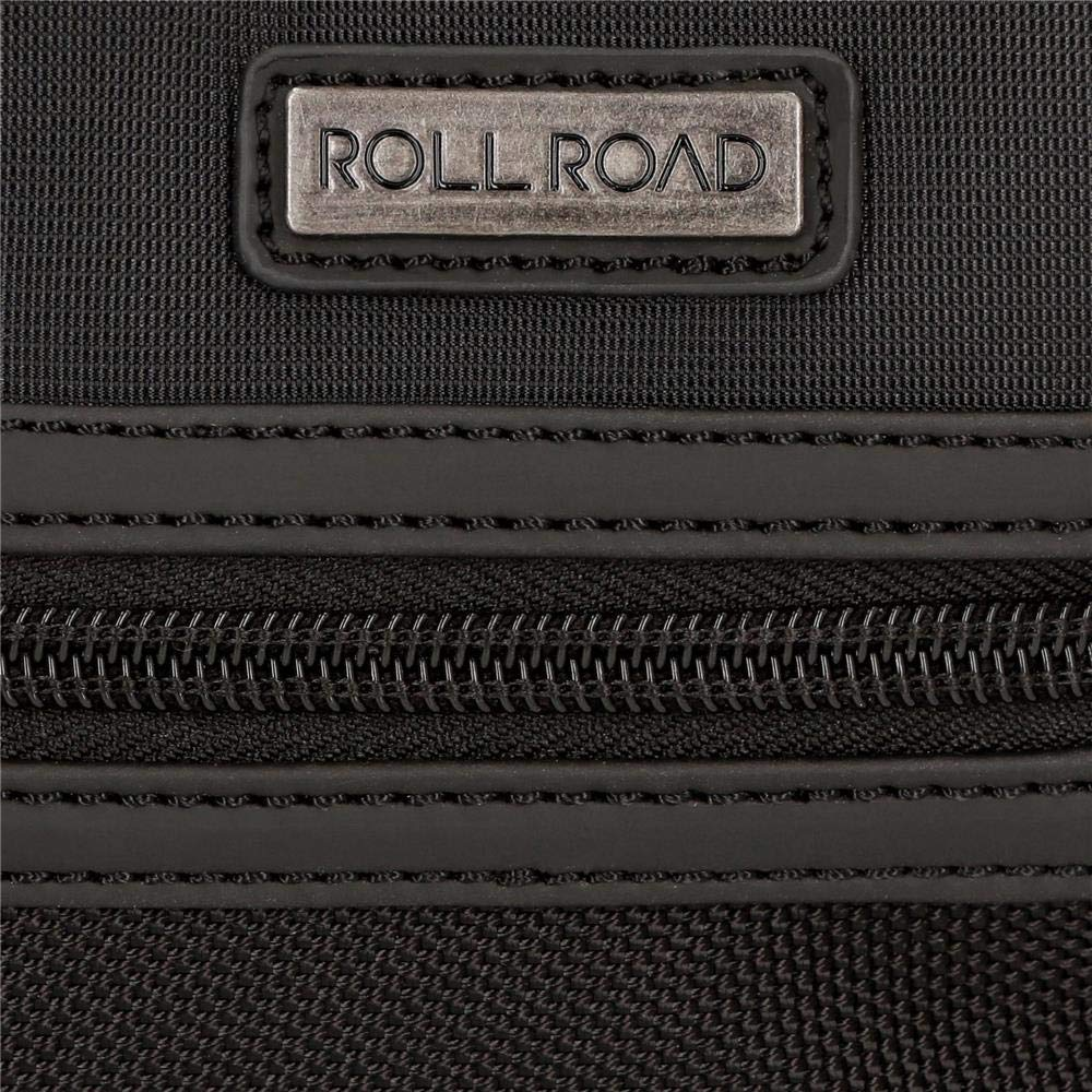 Bandolera Roll Road Stock doble compartimento Negra