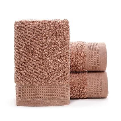 Toallas de baño de lujo extra grandes y gruesas de algodón 35 x 80 cm