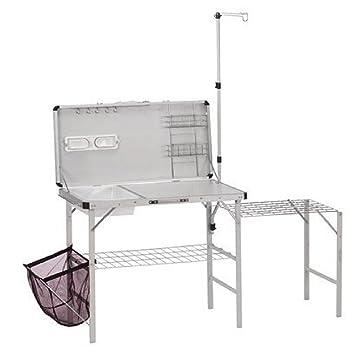 Amazon.com : Coleman 2000020275 Pack-Away Deluxe Portable Kitchen ...