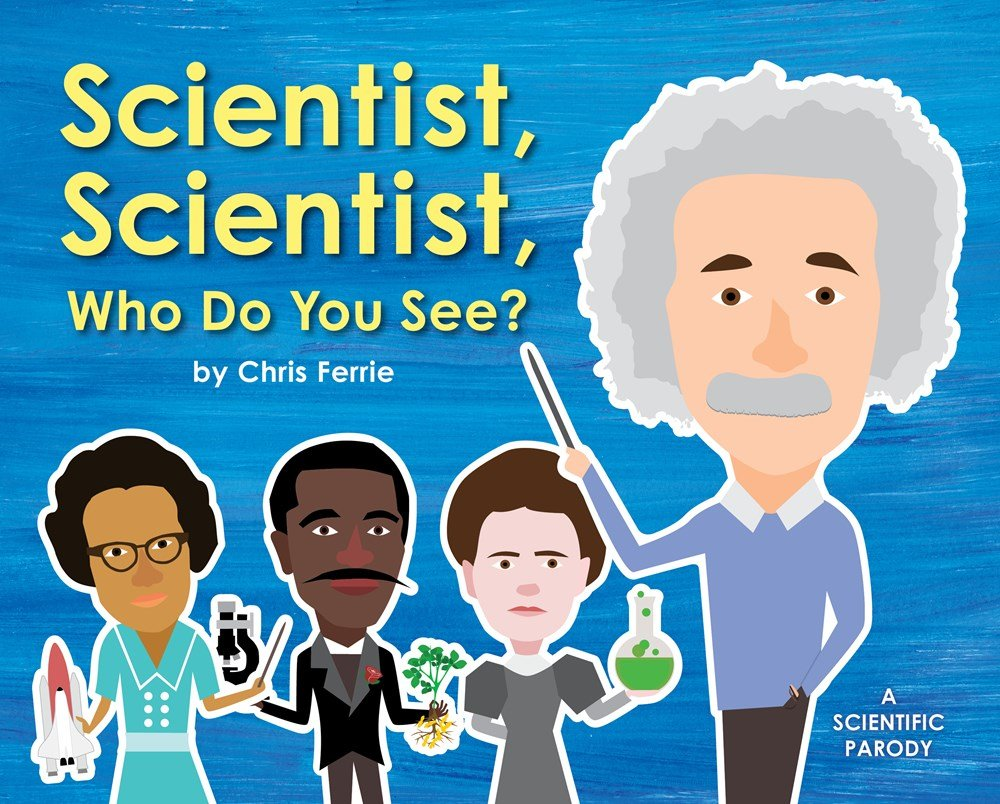 scientist scientist who do you see chris ferrie 0760789267550