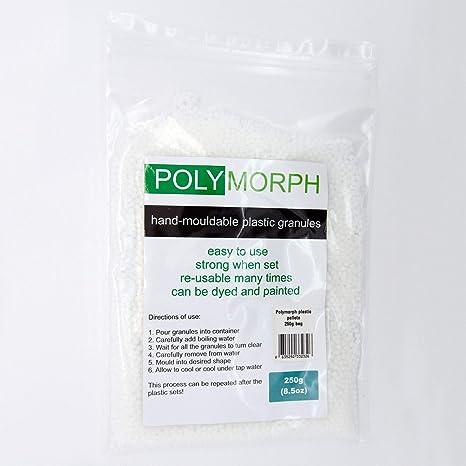 Bolsa de plástico Polymorph, moldeable a mano, ...