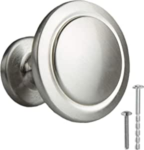 *10 Pack* Satin Nickel Twist Cabinet Knobs #1471SN