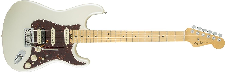 Fender 0114112700 American Elite Stratocaster HSS Shawbucker - Guitarra eléctrica para diapasón de arce - Sunburst-P: Amazon.es: Instrumentos musicales