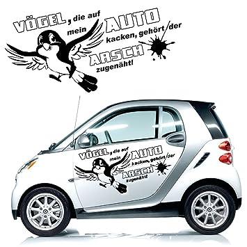 Coole Sprüche fürs Auto Aufkleber Texte Schriftzüge Car Tattoo