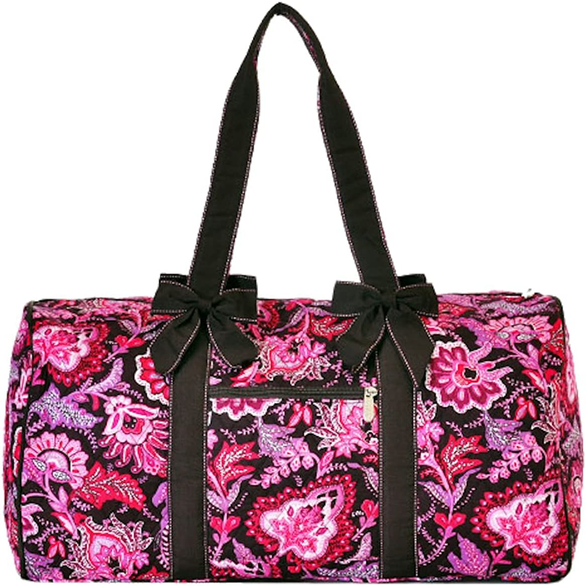 Lar Lar Quilted Floral Large 21 Duffle Bag