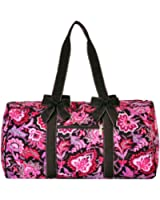 """Lar Lar Quilted Floral Large 21"""" Duffle Bag"""