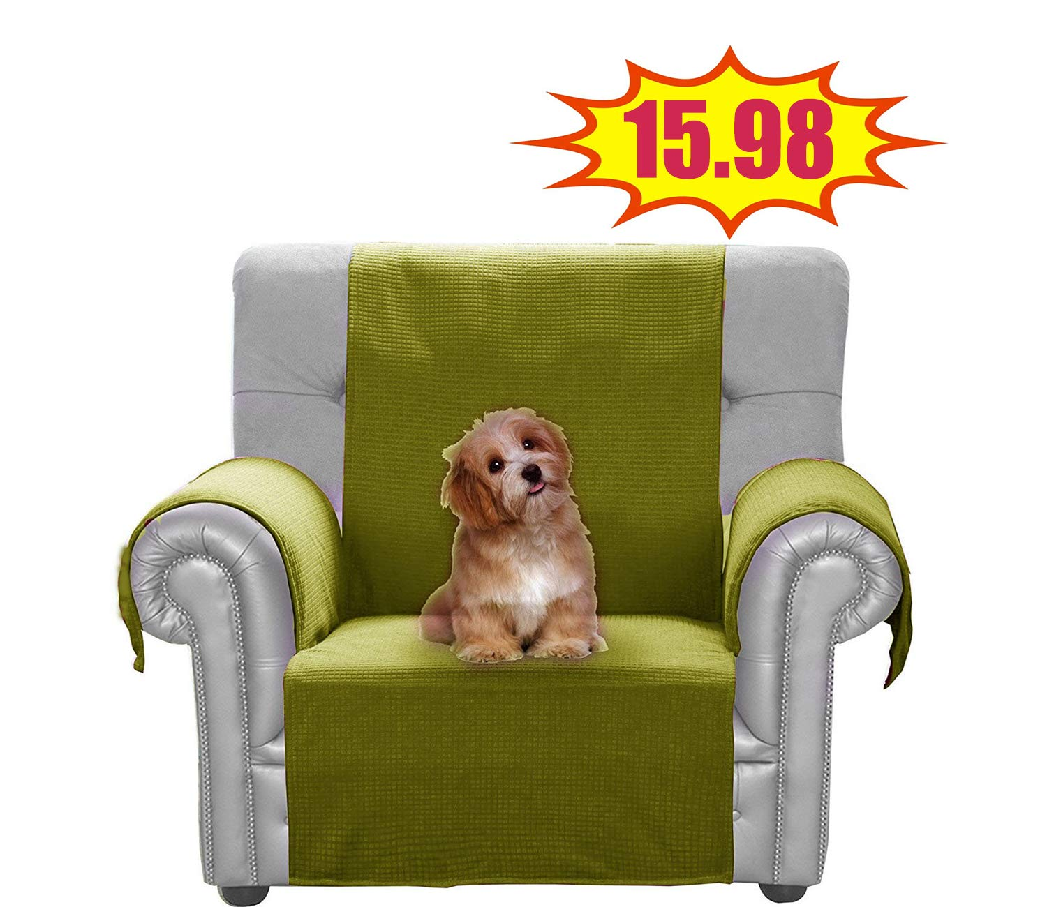 Phenomenal Jiater Improved Non Slip Pet Dog Sofa Chair Slipcovers Living Room Couch Covers Furniture Protectors Fruit Green Chair Bralicious Painted Fabric Chair Ideas Braliciousco