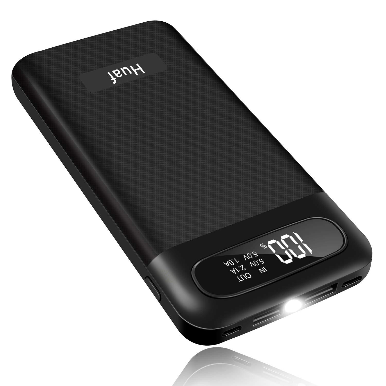 amazon com huaf power bank 24000mah portable charger battery pack rh amazon com