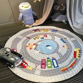 Nibesser Kinder Aufraumsack Spielmatte Spieldecke Spielzeug Speicher