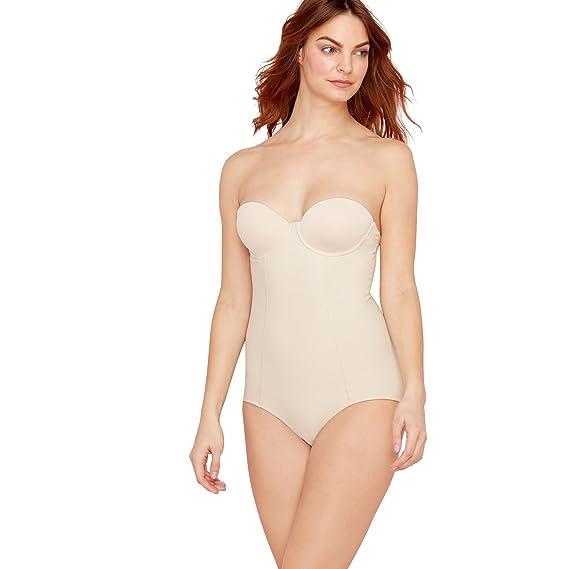 dcc9d627f Debenhams Nude Firm Control Cupped Body 38D  Debenhams  Amazon.co.uk   Clothing