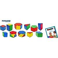 Miniland - Conexion: Set prismas, 84 Piezas en