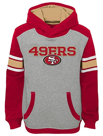 aadeceb9b3c Image Unavailable. Image not available for. Color  San Francisco 49ers  Youth NFL  quot Allegiance quot  Pullover Hooded Sweatshirt