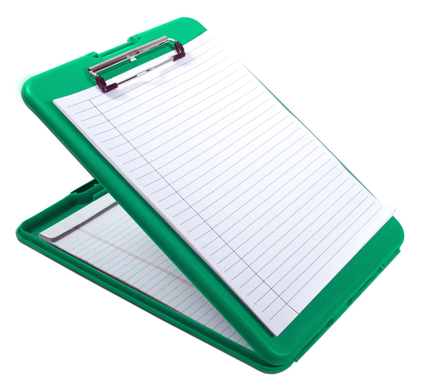 Saunders SlimMate Plastic Storage Clipboard Letter Size 8.5-Inch X 12-Inch 560 Red