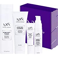NxN Acne Treatment Kit 4-Step Clear Skin System with Salicylic Acid, Probiotics, Sulfer & Natural Retinols, Control…