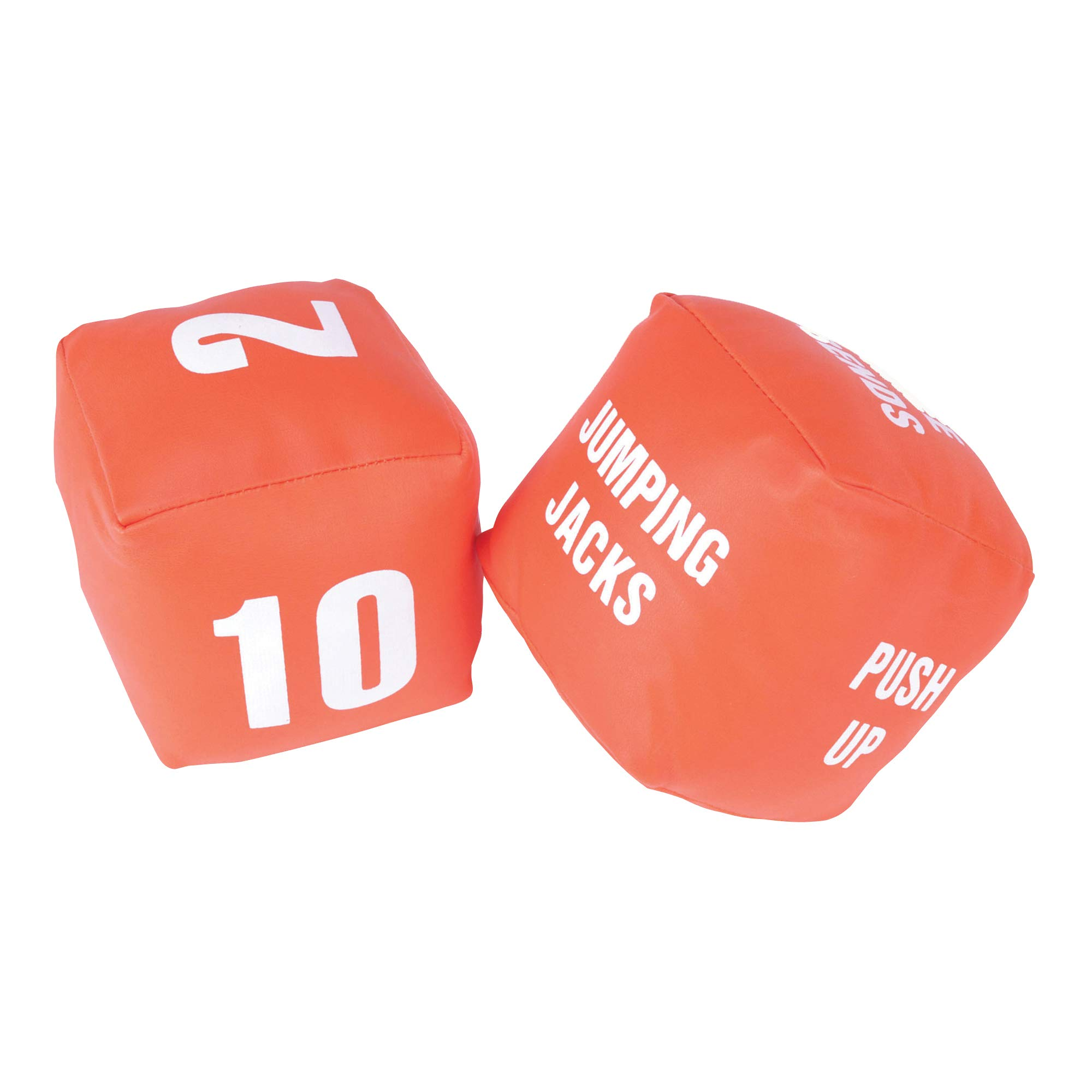 American Educational Products Cubes with Actions Numbers Fitness Dice, Set of 2 by American Educational Products