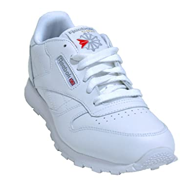 5c473b837e24 Reebok Junior Classic Leather Walking Shoe (White