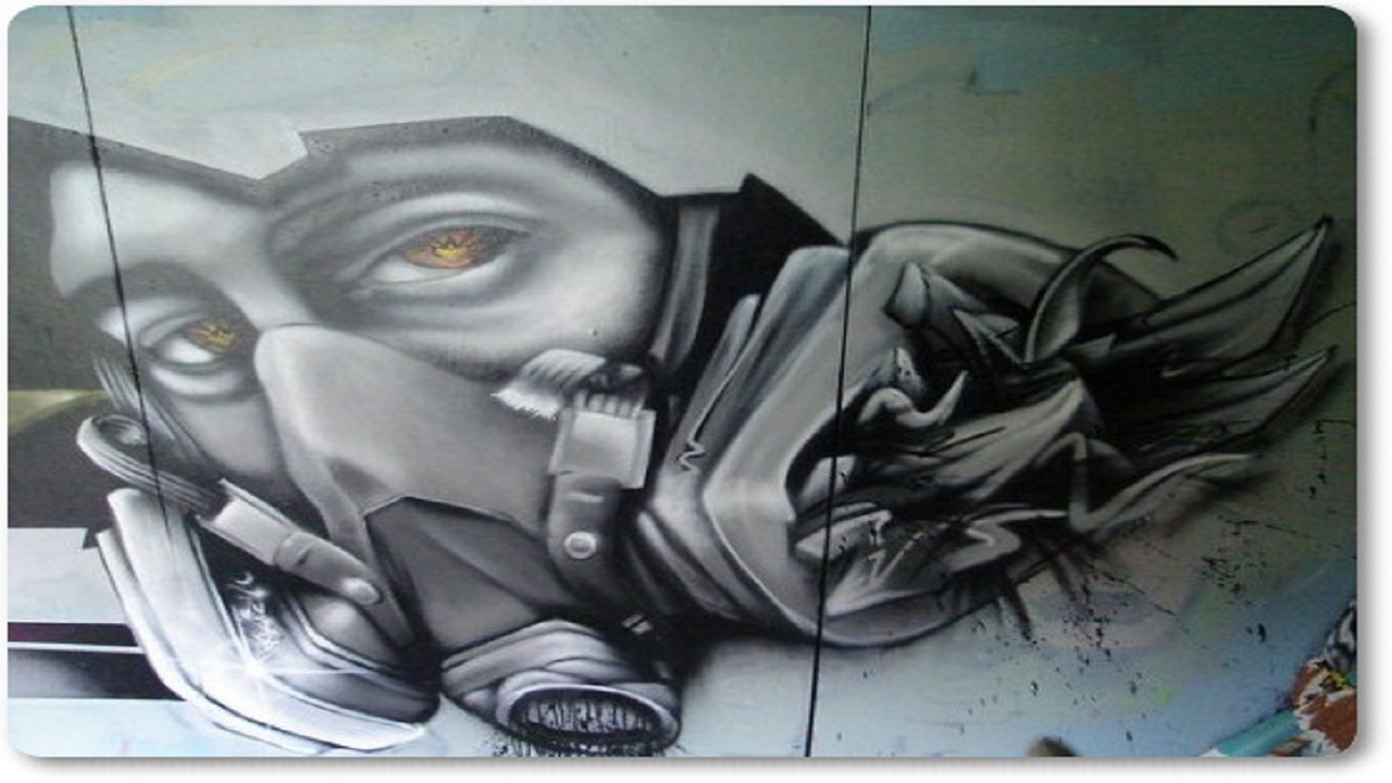 Amazon com 100 graffiti gas mask appstore for android