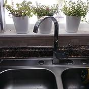Yodel Modern Kitchen Wet Bar Sink Faucet Chrome Finish