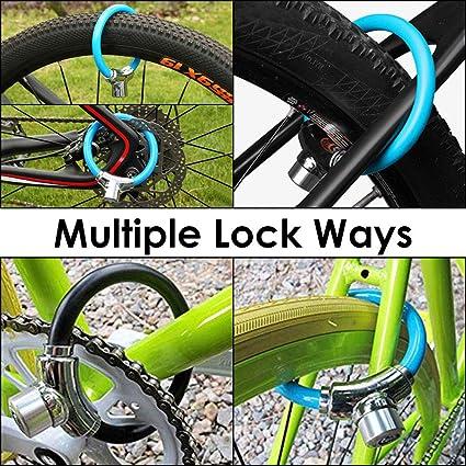 WOTOW - Candado para Marco de Bicicleta, 12 mm, de Acero ...