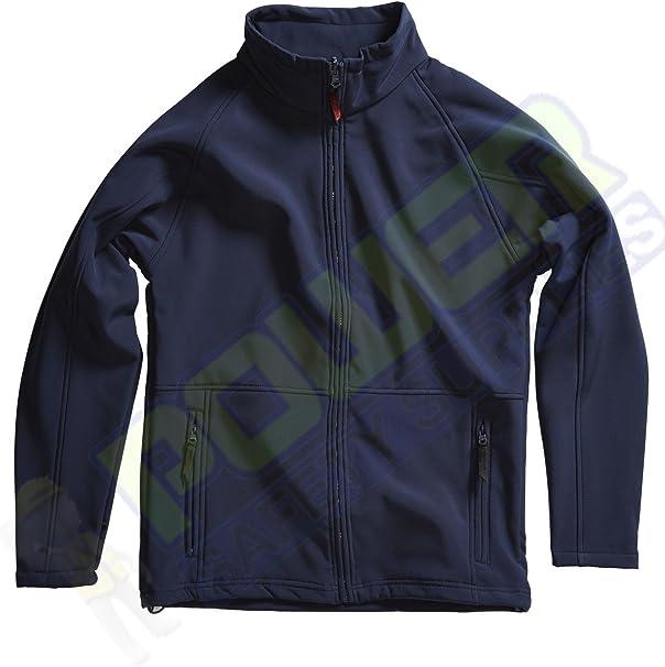 Blackrock Atmosphere Windproof Soft Shell Jacket Work Wear Coat Black Navy Blue