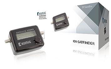 Konig audible indication satellite finder: amazon. Co. Uk: audio & hifi.