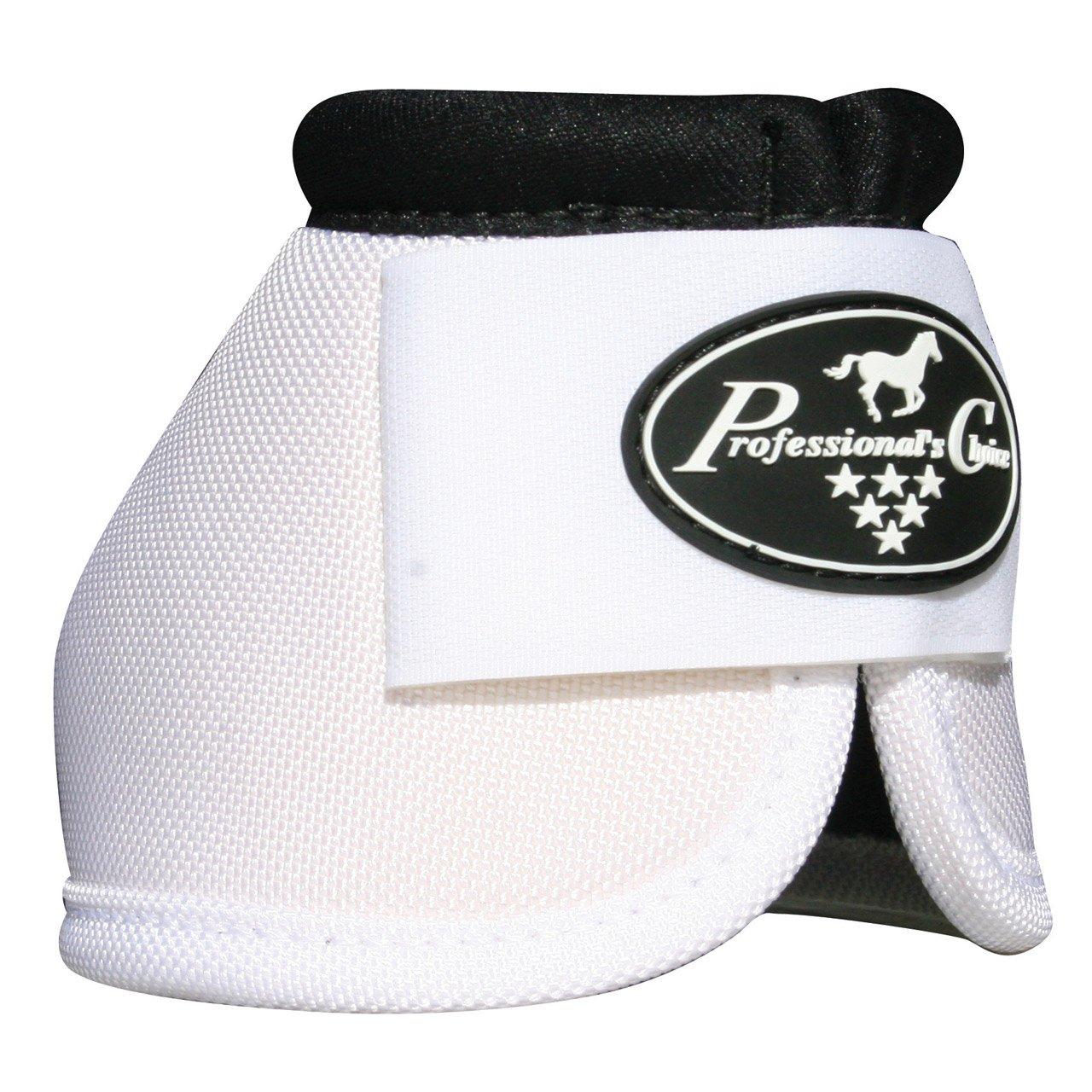 (プロフェッショナルズチョイス)Professional's Choice Ballistic™ ひづめオーバーリーチベルブーツ 2個1組 B00A5XDUFO Small|ホワイト ホワイト Small