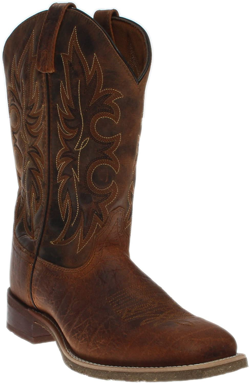 Laredo Mens Durant Square Toe Rust Boots B01FG6AROQ 9.5 D US|Rust/Copper
