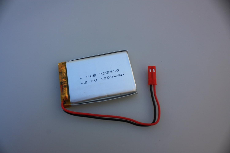Mikro LI-ION Lipo Akku mit 3,7V und 100mAh Mini Anzahl: 2 Stück