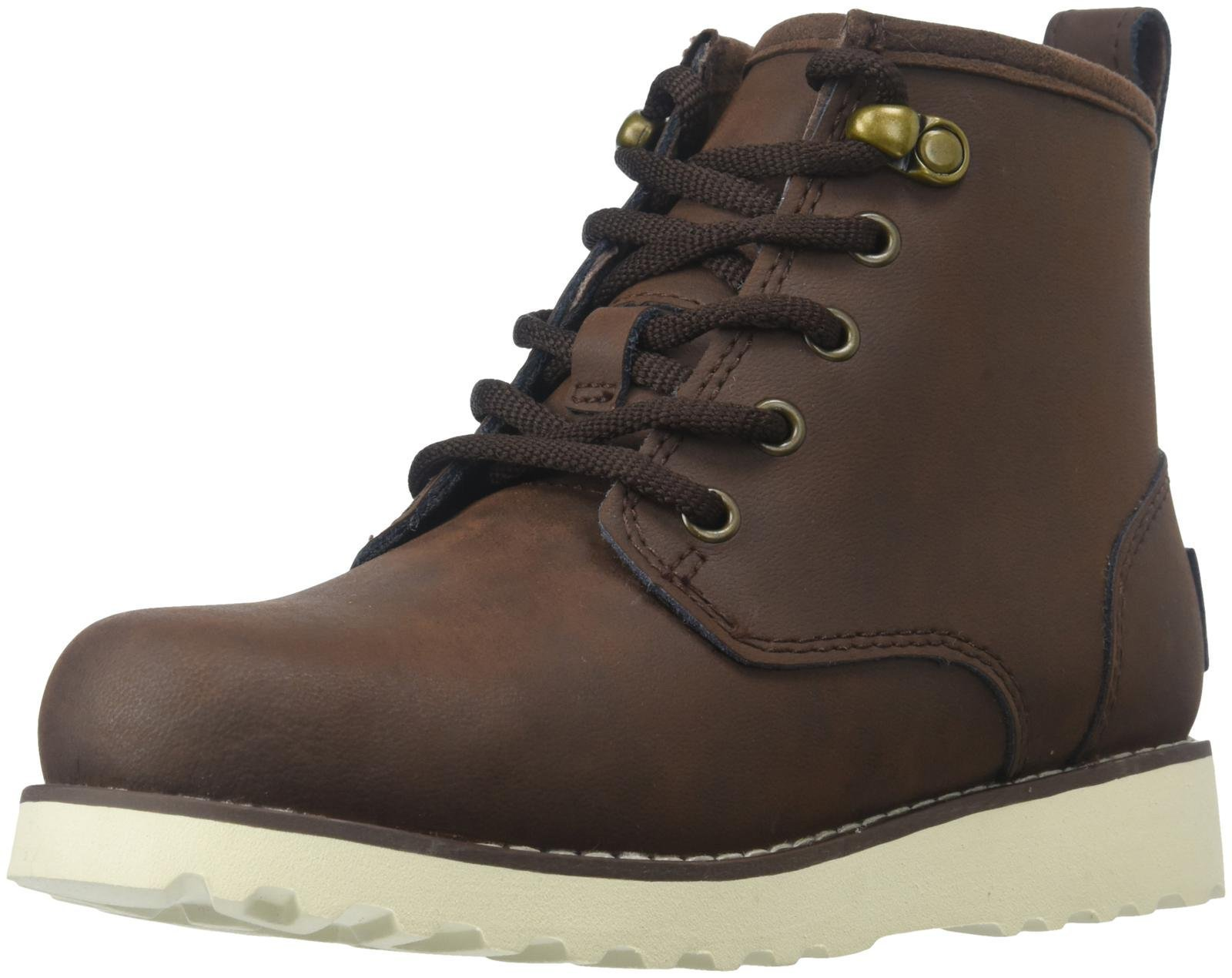 UGG Unisex Maple Lace Up Boot, Mahogany, 11 M US Toddler by UGG