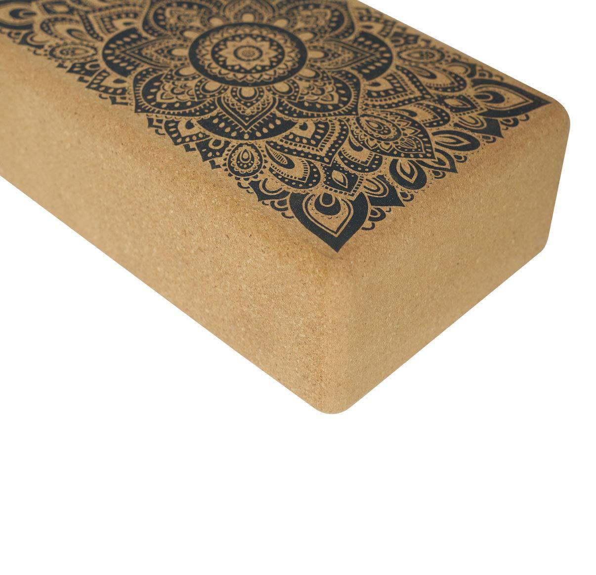 The Block Eco Yoga Block Printed Non Slip Grip Designed to Improve Your Practice Premium Colorful Best Selling /& Travel Friendly Set Offer! YOGA DESIGN LAB