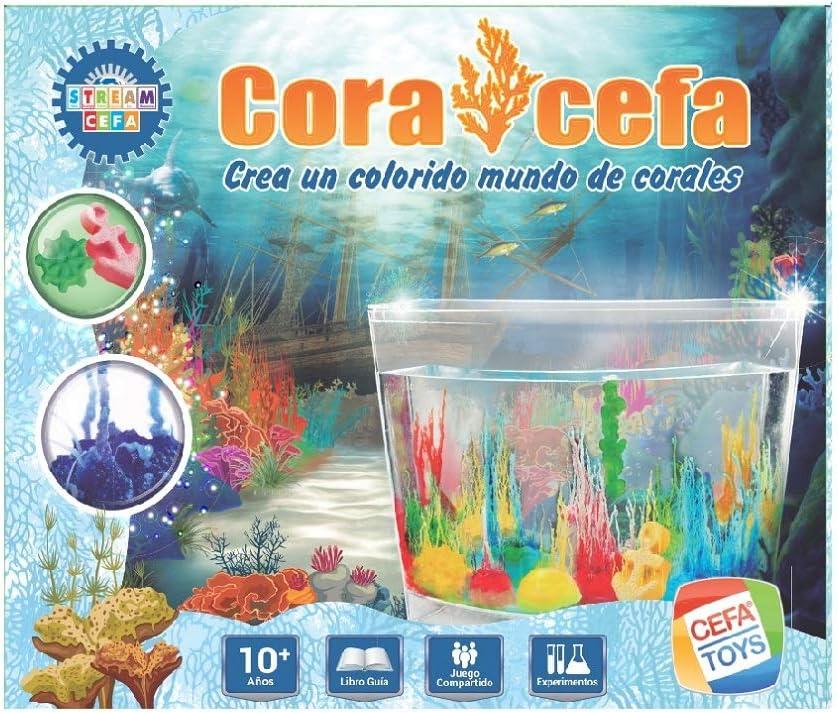 Cefa Toys- Jardin de corales, Color Azul (21837): Amazon.es: Juguetes y juegos