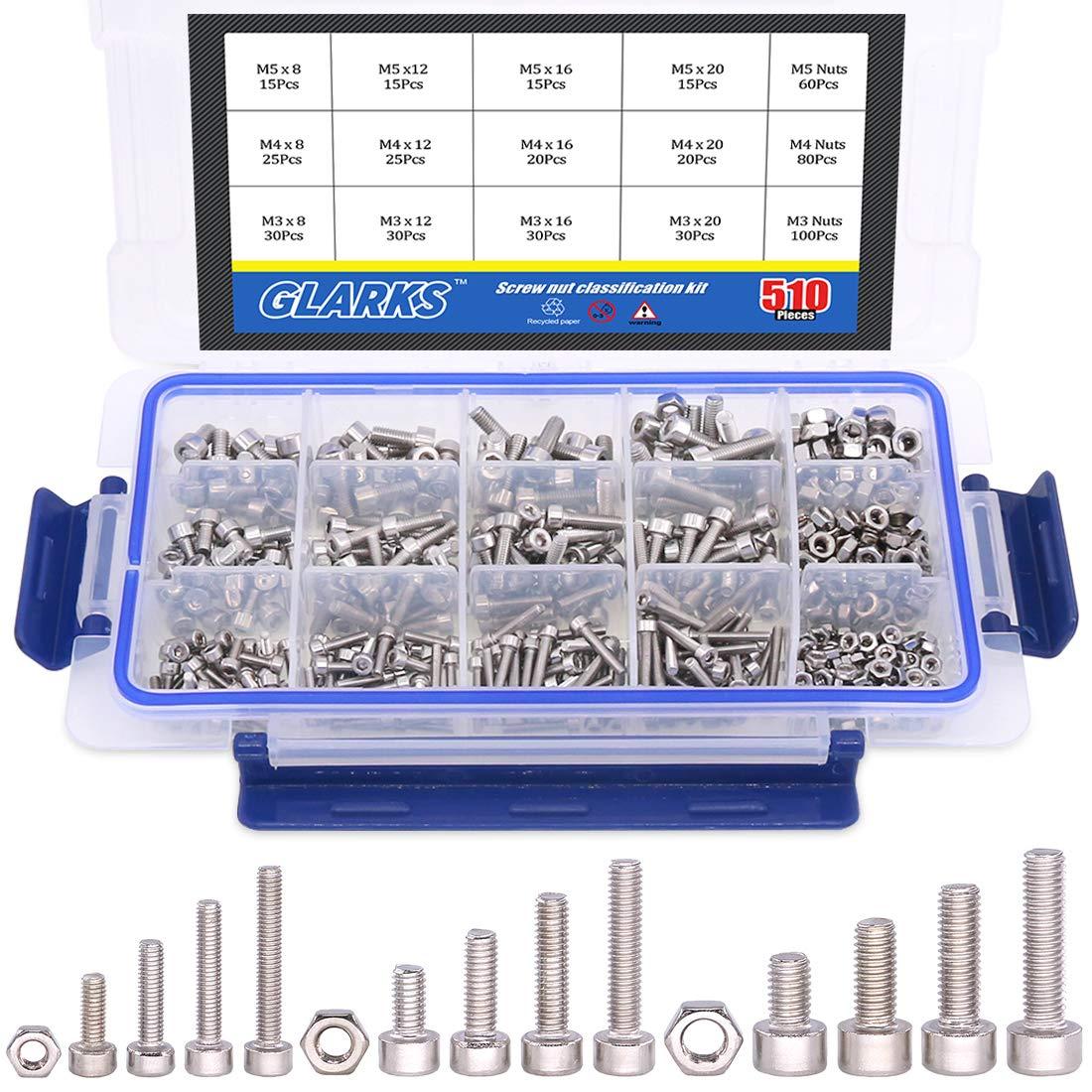 Thread Size M10-1.5 FastenerParts 18-8 Stainless Steel Thread Locking Precision Shoulder Screw