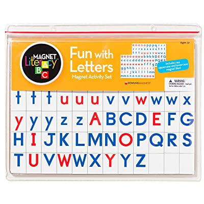 Dowling Magnets Fun with Letters Magnet Activity Set: Industrial & Scientific