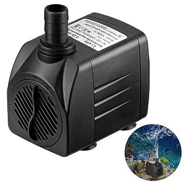 JunBo Bomba de Agua Acuario Bomba Sumergible para Pecera Acuario Estanque, 1800L/H, 25W: Amazon.es: Productos para mascotas