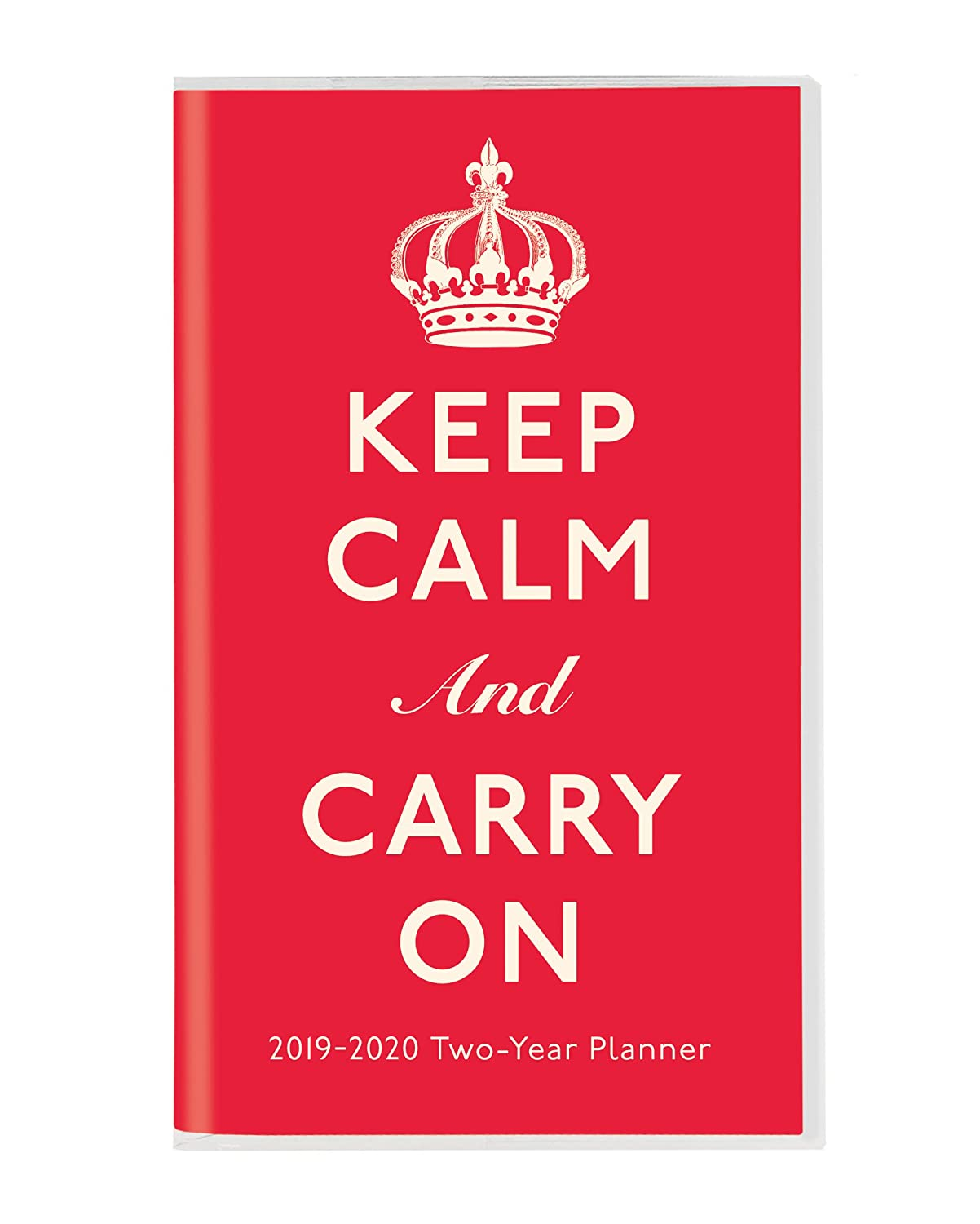 Keep Calm and Carry on 2018-2020 Two-Year Planner Graphique De France 2Y00619 CALENDAR Calendars