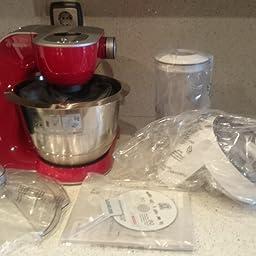 Bosch MUM58L20 CreationLine Robot de cocina con accesorios, 1000 W ...