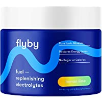 Flyby Keto Electrolyte Powder - 50 Servings - Rapid Rehydration, Recovery, Energy & Leg Cramps - 72 Trace Minerals…