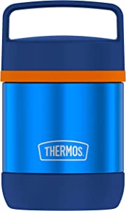 Thermos Insulated Food Jar, 10 Ounce, Blue