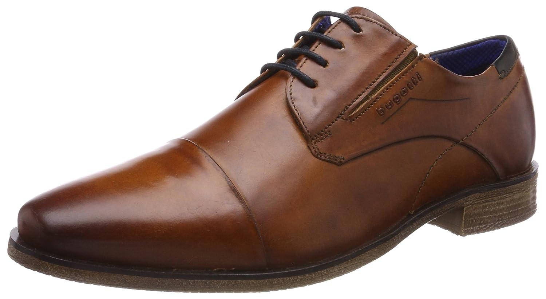 TALLA 43 EU. Bugatti 311251061100, Zapatos de Cordones Derby para Hombre