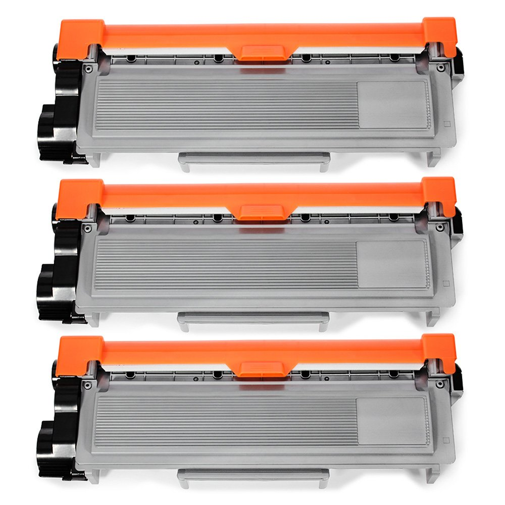 JARBO Compatible Toner Cartridges Replacement for Brother TN660 TN-660 High Yield, 3 Black, Compatible with Brother HL-2340DW HL-2380DW HL-2300D DCP-L2540DW DCP-L2520DW MFC-L2700DW MFC-L2740DW Printer by JARBO